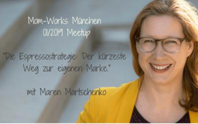 Die Espressostrategie, der kürzeste Weg zur eigenen Marke, mit Maren Martschenko
