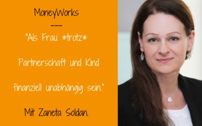 """Zaneta Soldan im LIVETalk zu """"Frauen und Geld"""""""